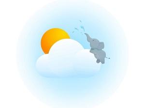 晴象天气:免费浇8次水,每天提现0.3元!